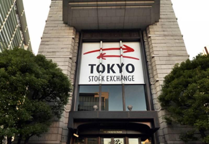 ٹوکیو سٹاک ایکسچینج میں تیزی کا رجحان