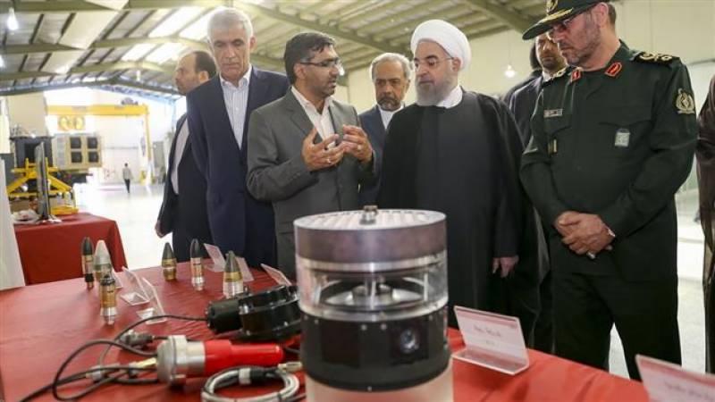 ایران کی 12 دفاعی منصوبوں اور دفاعی آلات کی تقریب رونمائی
