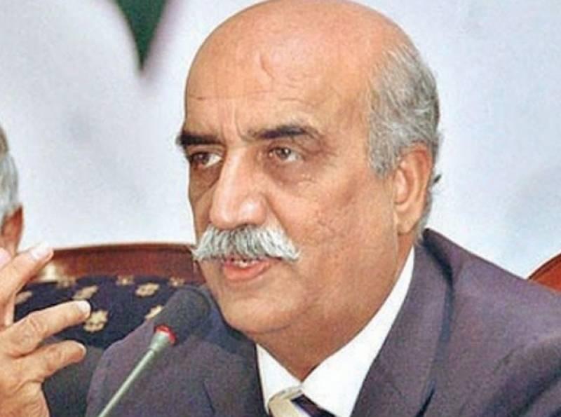 وزیراعظم پارلیمنٹ اور اداروں کو بچانےکیلئےاستعفیٰ دیں, اپوزیشن لیڈر سید خورشید شاہ