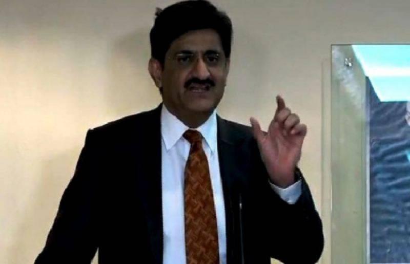 مراد علی شاہ  نے حسن اسکوائرمیں کوسٹر پر فائرنگ کے واقعہ کانوٹس لے  لیا