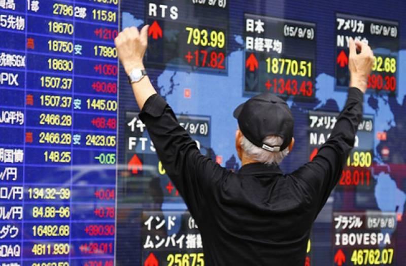 ایشین سٹاک مارکیٹس میں حصص کے نرخوں میں اضافہ