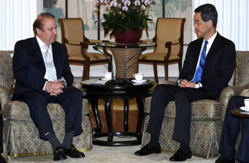 وزیراعظم محمد نواز شریف سے ہانگ کانگ کی بڑی کمپنیوں کے سربراہان کی ملاقاتیں