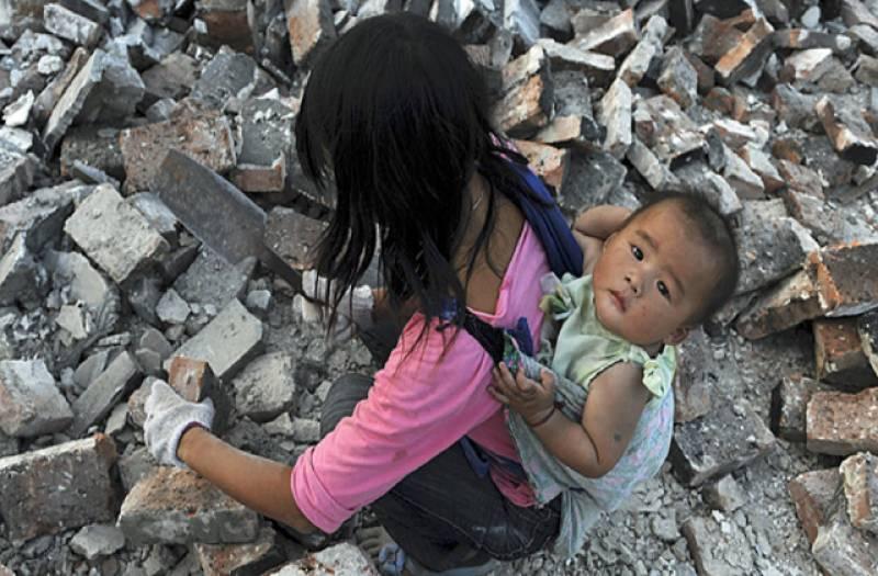چین میں غریب آبادی کی تعداد8 کروڑ 20 لاکھ سے کم ہوکر4کروڑ رہ گئی۔