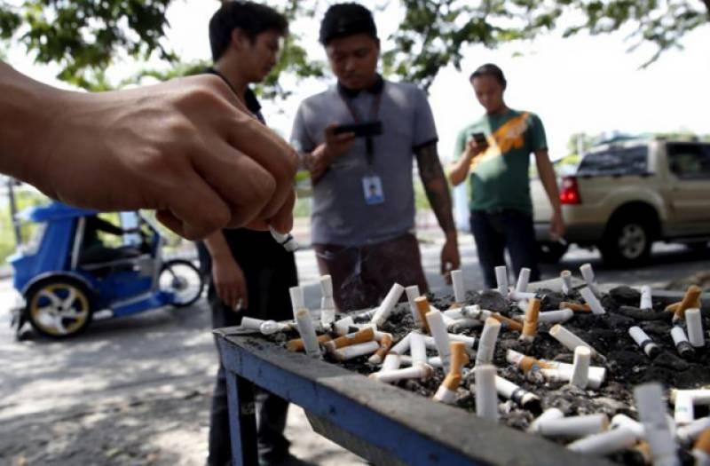 فلپائین کے صدرنے ملک بھر میں سگریٹ نوشی پر سخت پابندی عائد کر دی۔