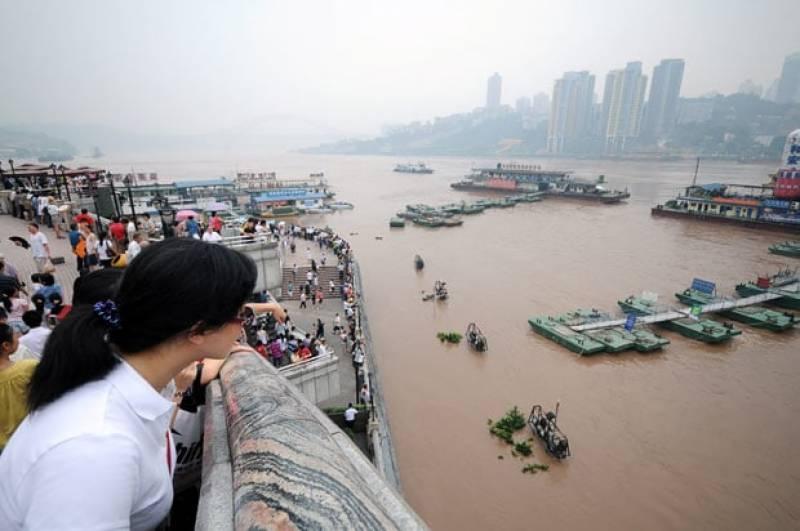 چین: ساحلی علاقوں میں بارشیں ،شمالی صوبوں میں گرمی کی لہر