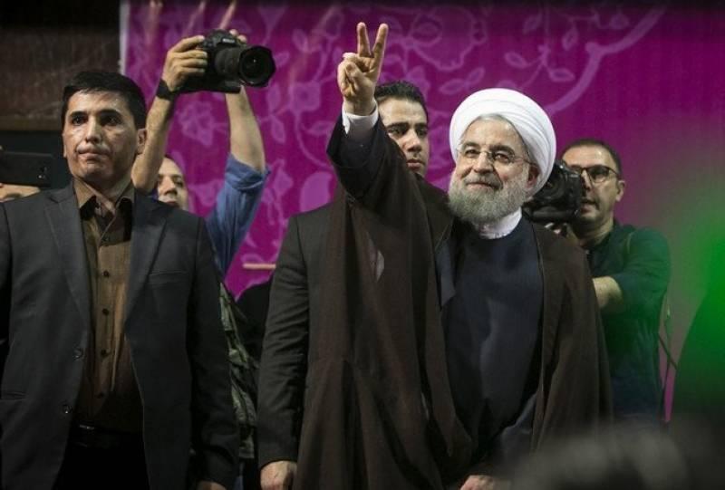 ایرانی صدر حسن روحانی صدارتی انتخابات میں دوبارہ کامیاب