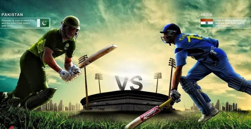 آئی سی سی چیمپئنز ٹرافی میں آج روایتی حریف پاکستان اور بھارت کی کرکٹ ٹیمیں مد مقابل