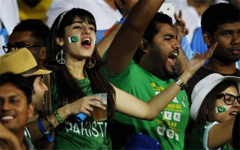 پاکستان اور بھارت کا مقابلہ -شائقین کے ساتھ ساتھ کھلاڑیوں کے جذبات بھی عروج
