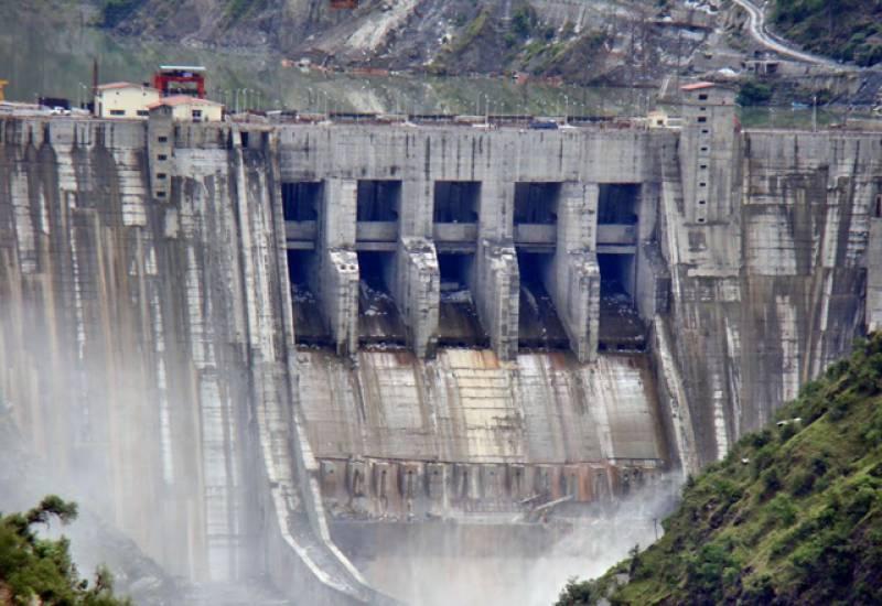 بھارت نے دریائے چناب کا پانی دوبارہ مقبوضہ کشمیر کے علاقہ میں بگلیہارڈیم پر روک لیا۔