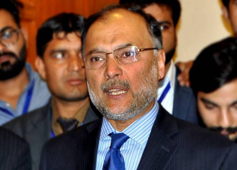 عمران خان عدالتوں کا سہارا لے کر حکومت گرانا چاہتے ہیں۔ احسن اقبال