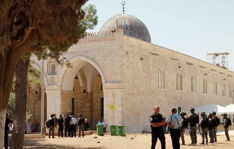 اسرائیل کی جانب سے نماز کی ادائیگی اور اذان پر پابندی