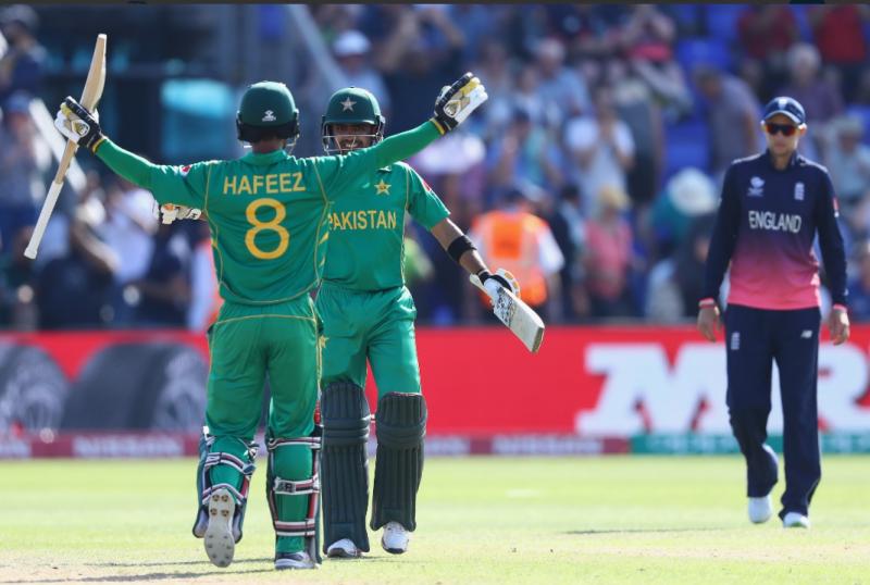 پاکستان نے چیمپئنز ٹرافی کے پہلے سیمی فائنل میں انگلینڈ کو ہوم گراونڈ پر شکست دے کر پہلی بار فائنل میں جگہ بنالی