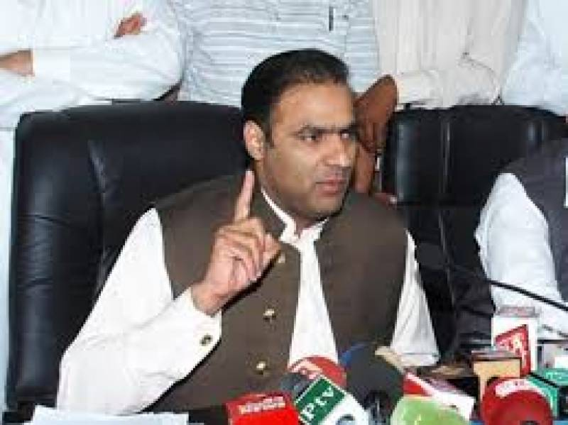 عابد شیر علی نے جوڈیشل اکیڈمی کے باہر مخالفین پر خوب تنقید کی