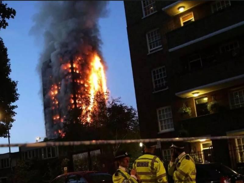 لندن میں گرینفل ٹاورمیں لگنے والی آگ میں ہلاکتوں کی تعداد تیس ہوگئی ، جبکہ 76 افراد تاحال لاپتہ ہیں