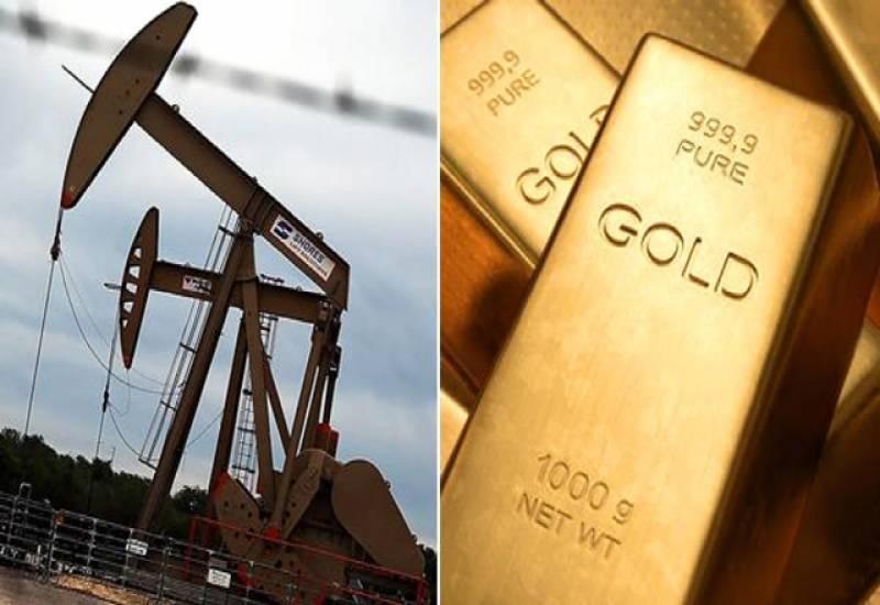 عالمی مارکیٹ میں خام تیل اور سونا سستا ہوگیا۔