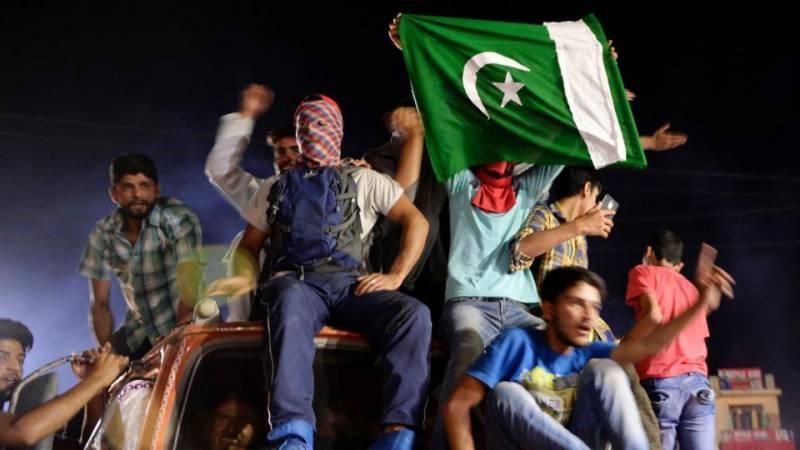 پاکستان کھلاڑیوں نے کشمیریوں کو عید سے پہلے عید کا تحفہ دیاہے۔ چودھری محمد سعید
