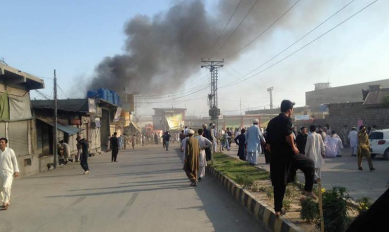 پارا چنار دھماکوں میں شہید ہونے والوں کی تعداد سڑسٹھ ہو گئی