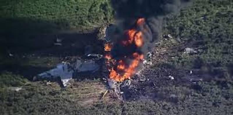 امریکہ میں فوجی طیارے کے حادثے میں 16 افراد ہلاک