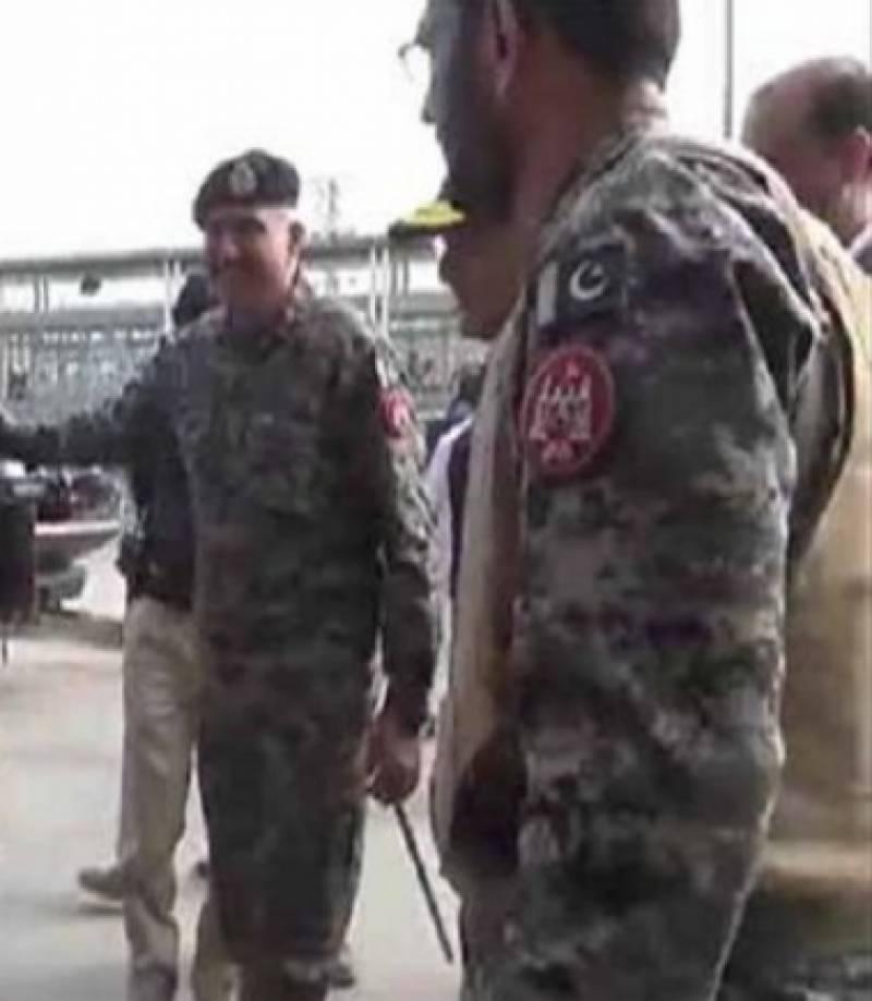 لاہور میں  ڈی جی رینجرز میجر جنرل اظہر نوید حیات خان کی زیرصدارت کمانڈ کانفرنس ہوئی