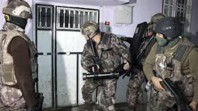 ترکی میں پولیس نے  کارروائی  کرتے ہوئے داعش سے تعلق رکھنے والے پانچ دہشگردوں کو مار ڈالا