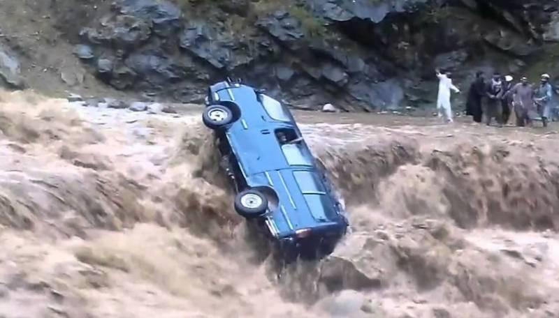 باجوڑ ایجنسی میں بھی سیلابی ریلوں نے تباہی مچا دی۔
