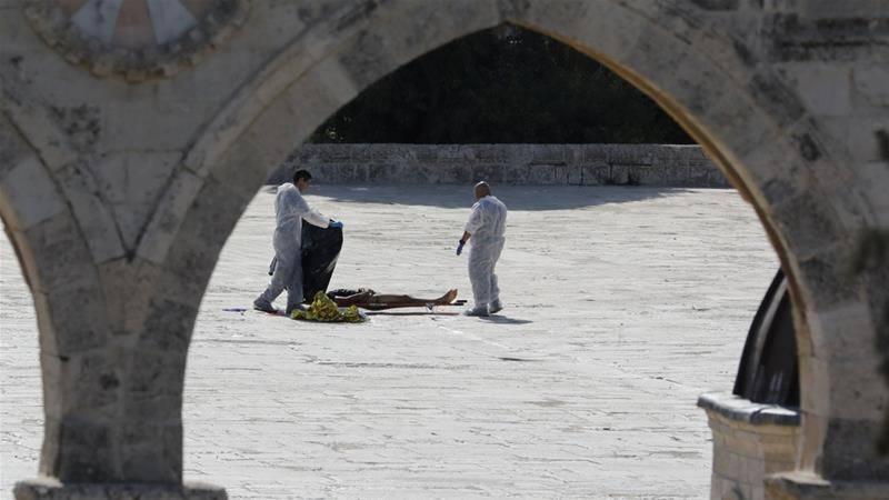 مسجد اقصیٰ کے صحن میں اسرائیلی فوج سے جھڑپ کے دوران 3 فلسطینی شہید
