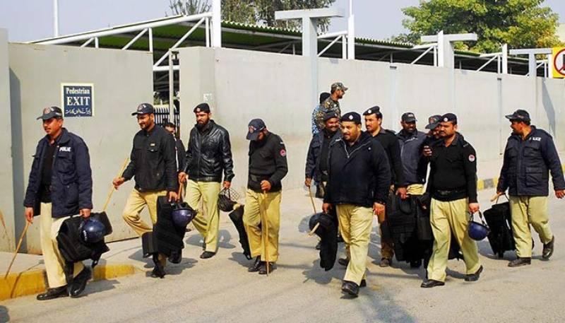 راولپنڈی میں  نامعلوم افراد کی فائرنگ سے ریلوے پولیس  کا اہلکارجاں بحق ہوگیا۔