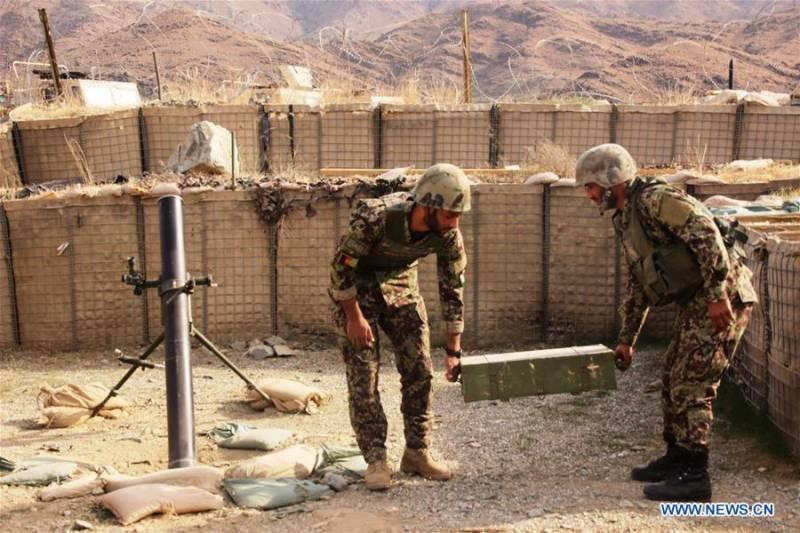 افغانستان میں سیکیورٹی فورسز کے آپریشن کلین اپ کے نتیجے میں100ے قریب طالبان ہلاک