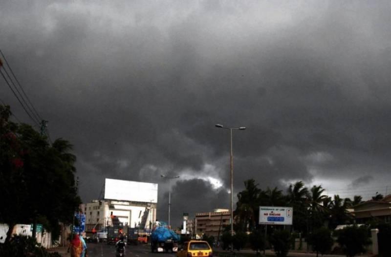 محکمہ موسمیات نے آئندہ چوبیس گھنٹوں کے دوران  مزید بارشوں کی نوید سنا دی