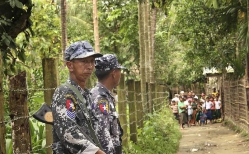 میانمار کی فوج نے ایک بار پھر روہنگیا مسلمانوں کیخلاف بھرپور کارروائی شروع کردی ،