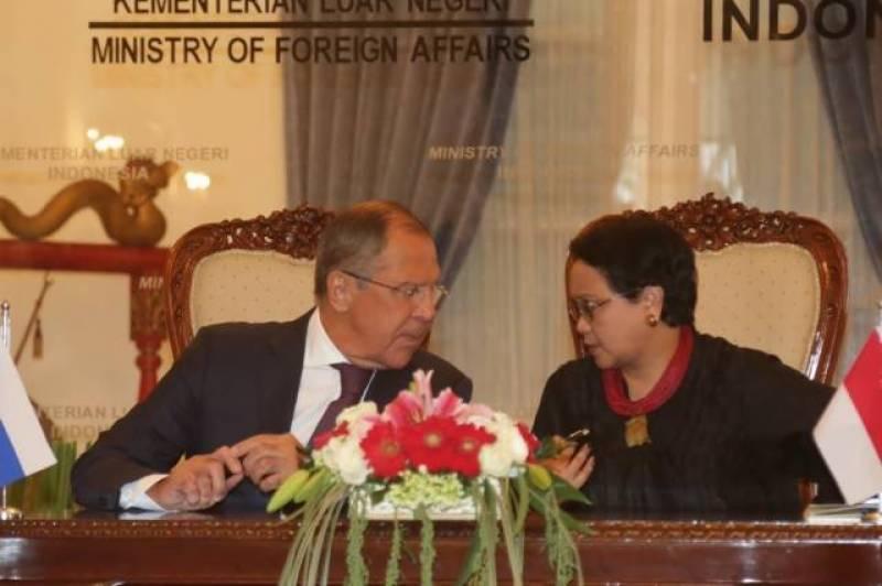 غیر ملکی میڈیاکے مطابق روسی وزیر خارجہ سیرگئی لاوروف اس وقت انڈونیشیا کے دو روزہ دورے پر ہیں