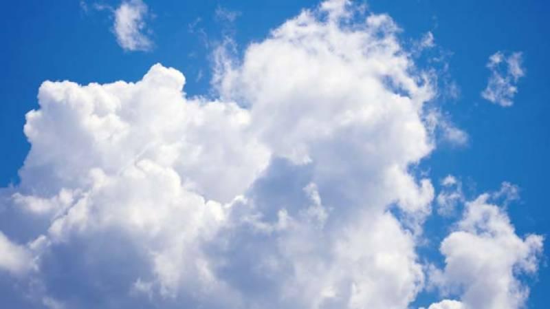 سورج اور بادل کی آنکھ مچولی کا سلسلہ جاری -