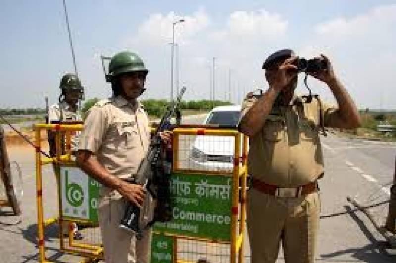 سکھ مذہبی پیشوا کے پیروکاروں کی جانب سے پُرتشدد مظاہروں کے خدشے پر ریاست ہریانہ کے دو اضلاع میں کرفیو نافذ ہے