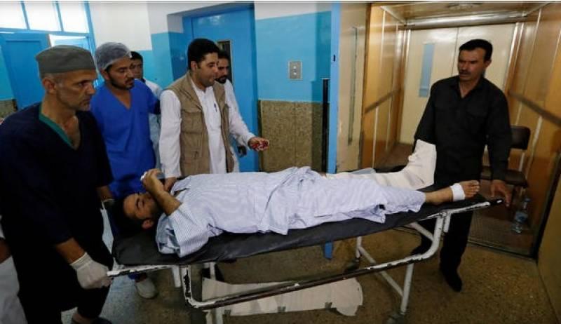 افغانستان کا دارالحکومت کابل ایک بار پھر دھماکے سے لرز اٹھا