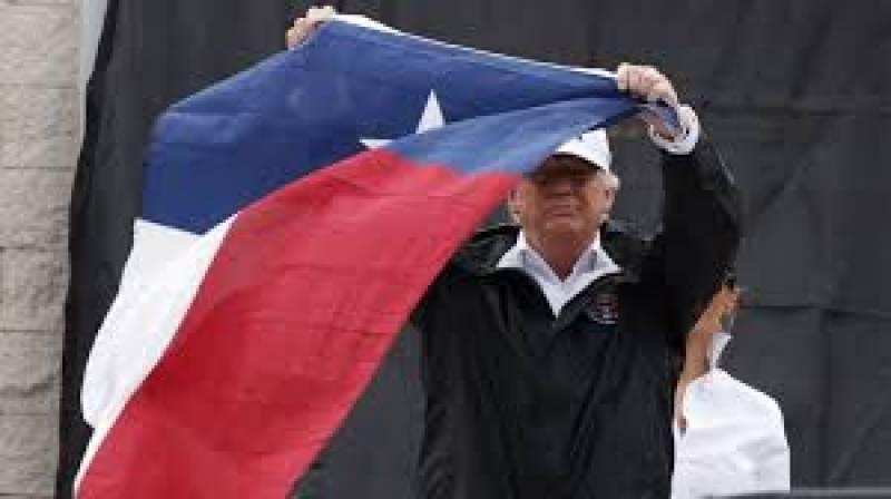 ڈونلڈ ٹرمپ سیلاب کی تباہ کاریوں کا جائزہ لینے کے لئے ٹیکساس کا دورہ کر رہے ہیں