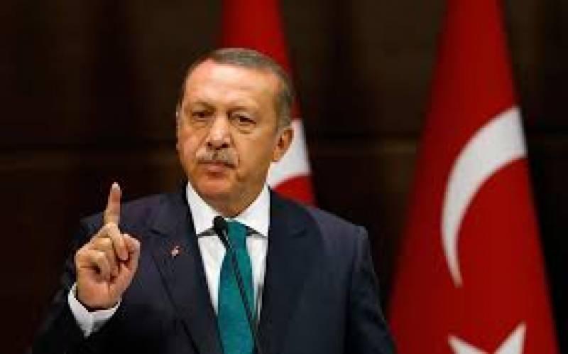 ترک صدر رجب طیب اردگان کا کہنا ہے کہ اسرائیل فلسطین تنازعے کا حل دونوں ملکوں کے لیے فائدہ مند ہوگا