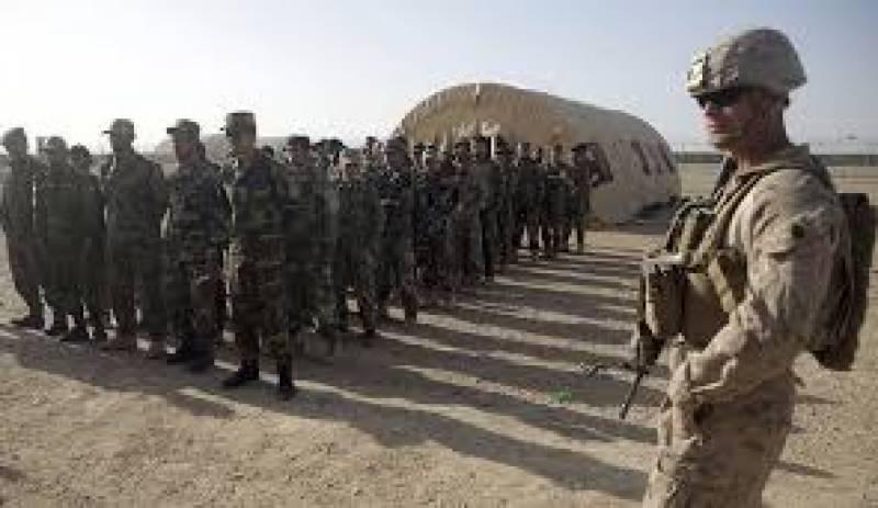 افغانستان میں تعینات امریکی افواج کی مجموعی تعداد میں معمول کے دستوں کےساتھ