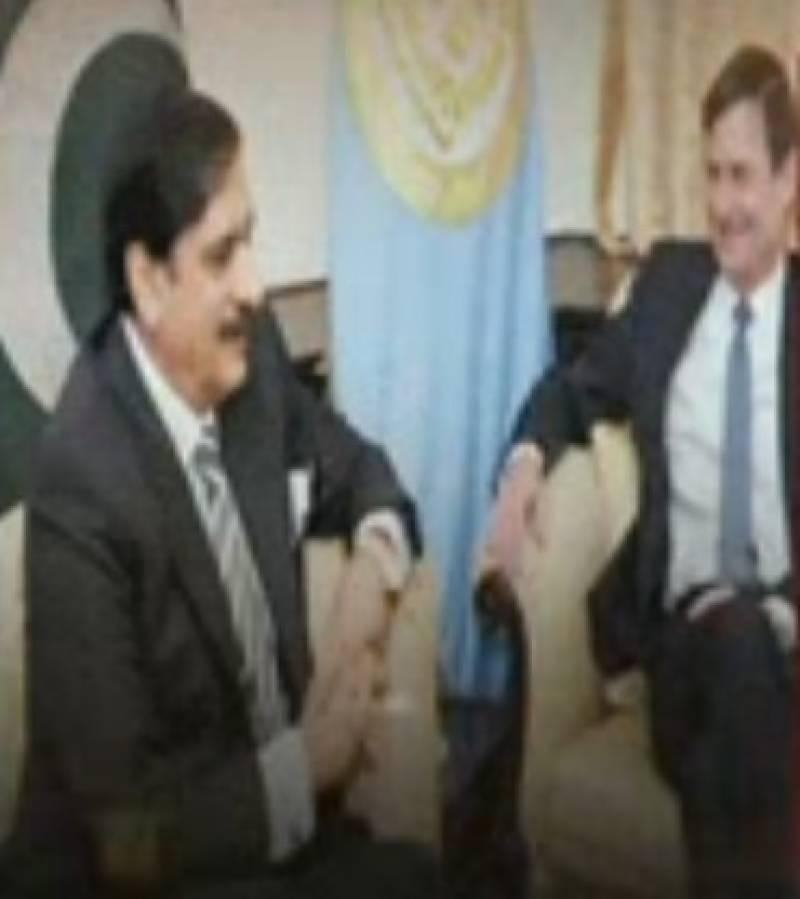 افغانستان میں ناکامی کا الزام پاکستان پرنہیں لگایا,  امریکی سفیر ڈیوڈ ہیل