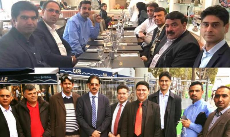 شیخ رشید تحریک انصاف فرانس کے سینیر راہنما یاسر خان کی دعوت پر پیرس پہنچ گئے۔ بڑے عوامی اجتماع سے خطاب کریں گے۔