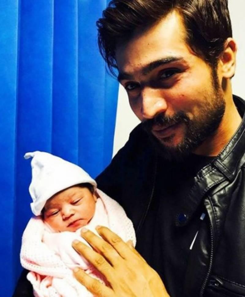 فاسٹ بالر محمد عامر بیٹی کے باپ بن گئے
