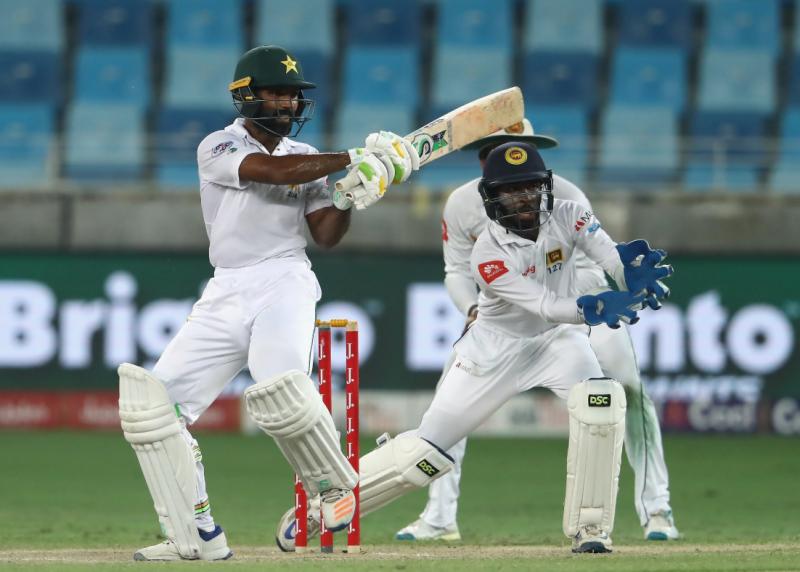 دبئی ٹیسٹ میں فتح کی امیدیں روشن، پاکستان نے تین سو سترہ رنز ہدف کے تعاقب میں پانچ وکٹوں پر ایک سو اٹھانوے رنز بنا لیے