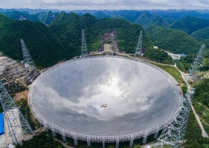 چین میں لگی دنیا کی سب سے بڑی سنگل ڈش ریڈیو ٹیلی سکوپ فاسٹ پر خلامیں دو نئے سیاروں کی نشاندہی ہوئی ہے