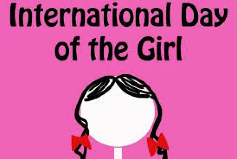 دنیا بھر میں 11 اکتوبر کو انٹر نیشنل ڈے فار دی گرلز چائلڈ کے طور پر منایا جاتا ہے