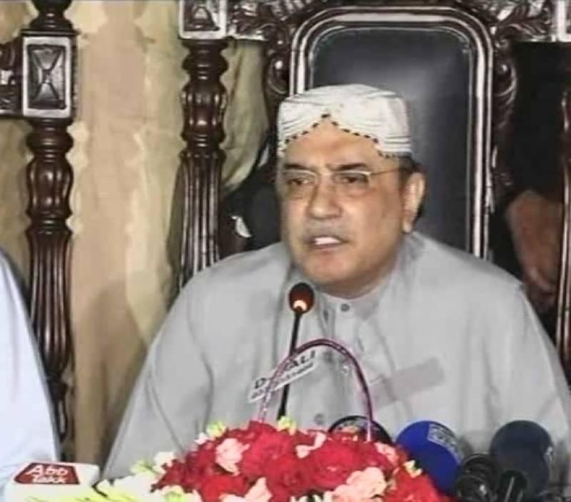ملک معاشی بدحالی کی جانب جا رہا ہے, مسلم لیگ ن  نے ہمیشہ ملک کنگال کر کے چھوڑا ہے,سابق صدر آصف علی زرداری