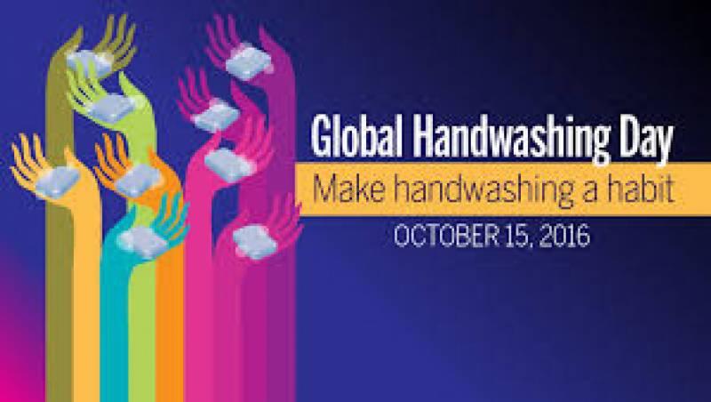 پاکستان سمیت دنیا بھر میں ہاتھ دھونے کا دن آج منایا جارہا ہے۔