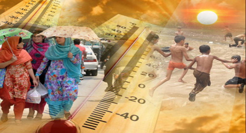 ملک بھر میں گرمی کا راج برقرار