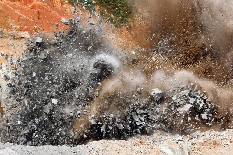 کرم ایجنسی میں خرلاچی کےقریب بارودی سرنگ میں دھماکہ