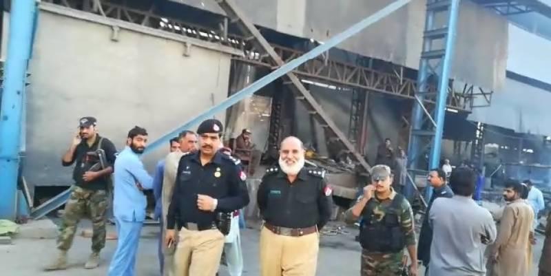 ہری پور.حطار انڈسٹریل اسٹیٹ میں ایک سٹیل مل کا فرنس دھماکے سےپھٹ گیا12مزدورشددزخمی