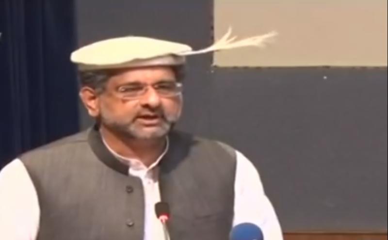 حکومت صرف باتوں تک محدود نہیں،سیاست میں مستقل مزاجی ہونی چاہیئے:وزیراعظم شاہد خاقان عباسی
