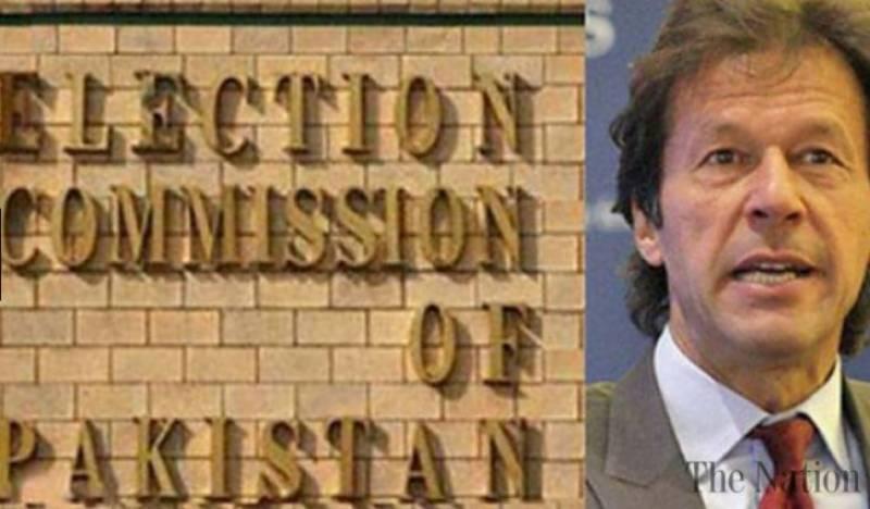 الیکشن کمیشن نے توہین عدالت اورپارٹی فنڈنگ کیس میں عمران خان کا معافی نامہ قبول کرلیا